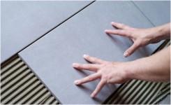 Infrarotheizung Fußboden Fliesen ~ Infrarot fliesenheizung